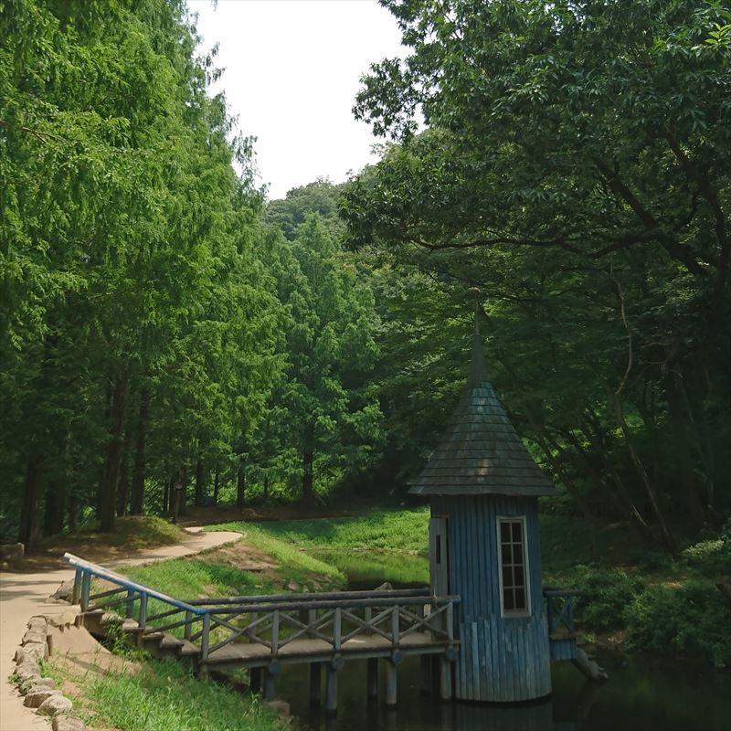 あけぼの子どもの森公園のムーミンの森