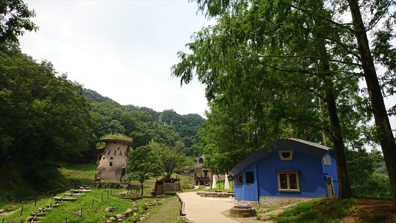 あけぼの子どもの森公園の北欧風カフェ