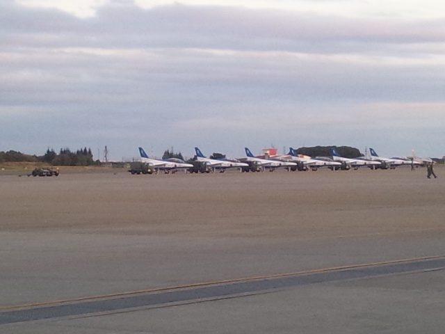 入間基地航空祭の様子