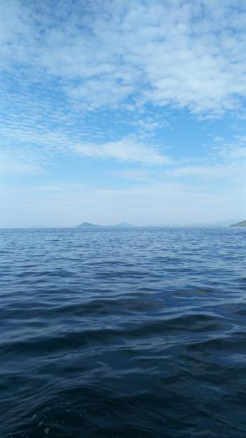マリンパル呼子の遊覧船イカ丸からの景色
