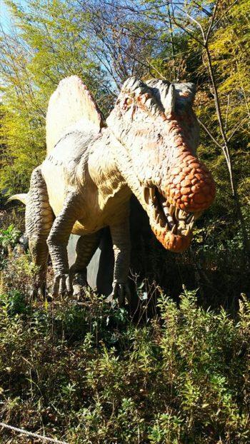 ディノアドベンチャー名古屋のスピノサウルス