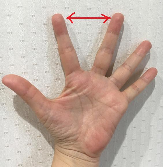 手の開き方でわかる性格診断
