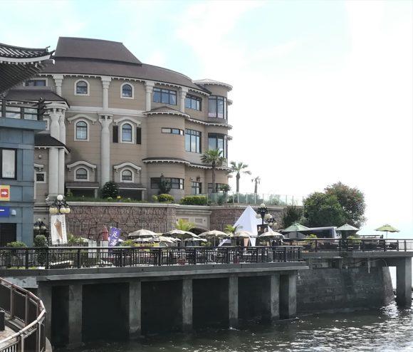 江の島アイランドスパ 建物