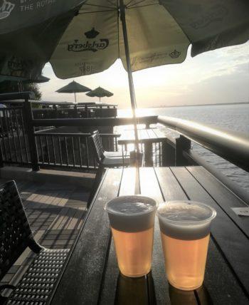 ビアテラスのビール