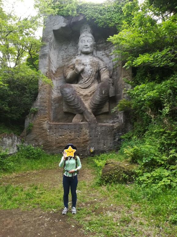 鷹取山から下山